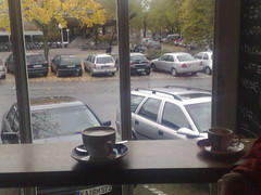 Kaffe Rstbar in Karlsruhe in a happy mood (FOAFknowsAlice) Tags: autumn cold germany contextwatcher celltagged geotagged october day relaxing dry moonlight raining karlsruhe thursday exif badenwrttemberg nokian73 lightair cell:mcc=262 cell:mnc=2 iyouit geo:range=13000 location:dayhour=13 location:nearby=1089 weather:type=fewclouds weather:feel=cold weather:rain=moderate location:continent=europe location:timezone=1 experience:mood=happy weather:temp=verycold weather:moonstate=newmoon weather:humidity=high weather:pressure=low weather:tstorm=low weather:uv=low weather:uvmax=low weather:coverage=high weather:type=brokenclouds weather:realfeel=cold weather:dir=southwest weather:pchange=rising weather:precip=high experience:safety=safe weather:height=243 phone:direction=000000 weather:visibility=moderate experience:dayhour=10 experience:drinking=coffee observation:devicetype=phone cell:lac=761 kafferstbar geo:lat=49009600 geo:long=8405600 cell:cellid=27793 observation:devicekey=001d6eb3acf5 observation:dynamic=true weather:height=396 location:distance=492