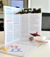 Name Tag + Booklet ({ karen* }) Tags: booklet nametag pwc lanyard mydesign managementconference mc08