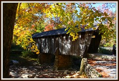 NC - Randolph County - Fall Colors at the Pisgah Covered Bridge (scott185 (the original)) Tags: nc fallcolors northcarolina randolphcounty pisgahcoveredbridge platinumphoto anawesomeshot