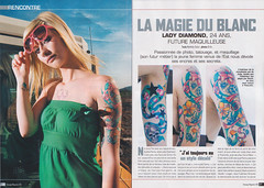 Tatouage Magazine (drifs) Tags: france tattoo lady ink magazine french piercing diamond tatoo mag publication inked tatouage ehrhardt drifs