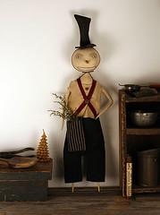 Primitive Snowman Doll (oldworldprimitives) Tags: snowman folkart dolls handmade etsy needlecraft primitive primitives primitivedolls christmasfolkart primitivefolkart primitivecrafts oldworldprimitives wsoapp winterfolkart