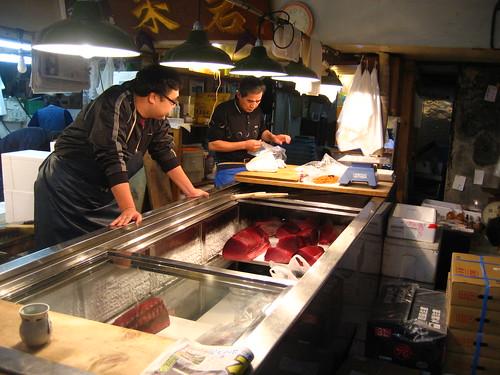 Fridge of tuna
