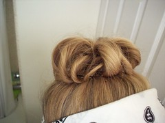 Twisty Hair Bun