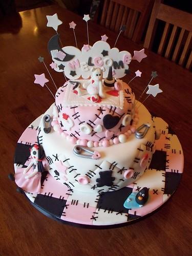 Emo Quilt cake