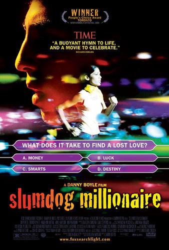 """""""Slumdog Millionaire"""" poster"""