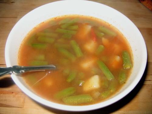 String Bean Soup