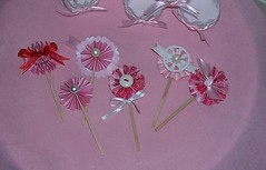 Valentine Cupcake Toppers (Jeanknee) Tags: cupcake toppers