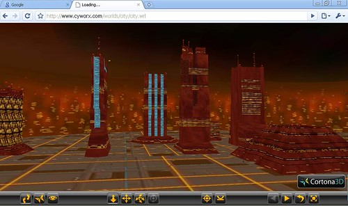 VRML On Google Chrome
