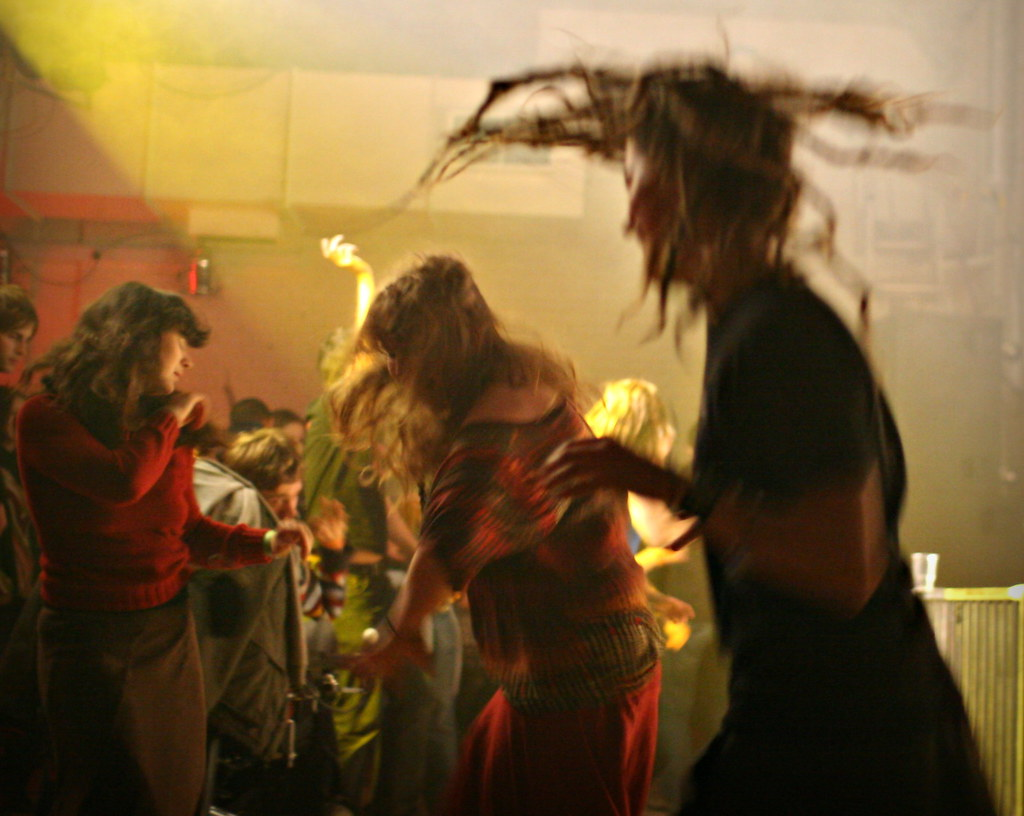 dancing at shared planet 2008