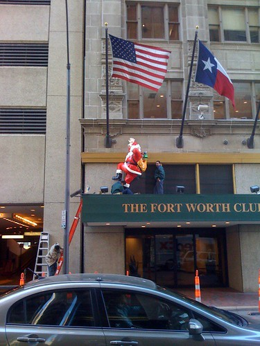 Santa at Fort Worth Club picture
