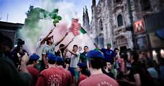 tricolore (alexis...) Tags: italia milano calcio tifosi tricolore cityangels