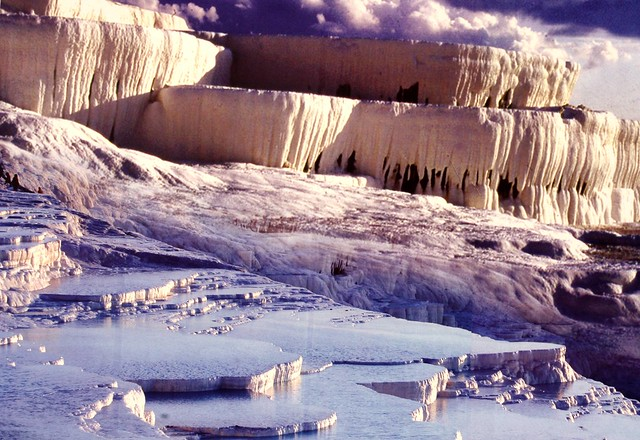 Photo of a poster at the Pamukkale Visitor Center