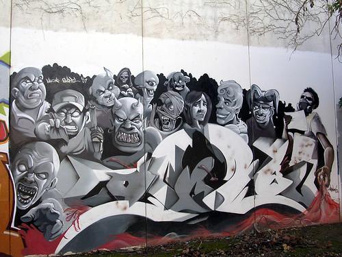 Vaya peña. Grafiti 22