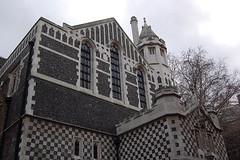 ska church (flashbender) Tags: london church ska checks