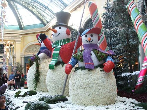 Bellagio Conservatory and Botanical Gardens - Holiday Show 2008 - Las Vegas