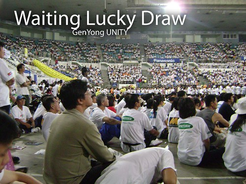 Waiting Lucky Draw
