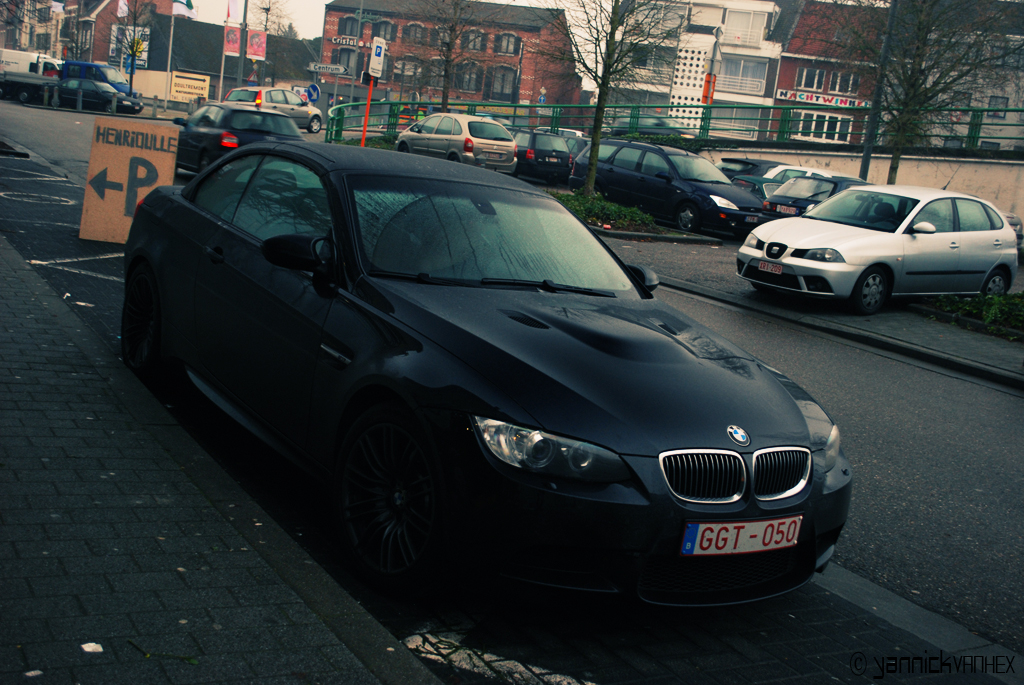 Bmw 630i Convertible Black. BMW M3 E93 Cabriolet lack
