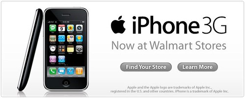 iPhones now @ Wal-Mart!