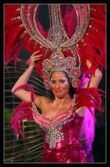 Pink (Katka S.) Tags: las sea espaa island islands spain erasmus capital contest ciudad canarias atlantic carnaval gran masquerade canary 2009 islas carneval piratas karneval palmas canari llp murgas