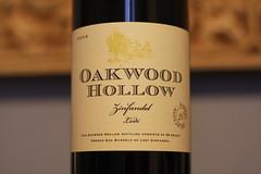 Oakwood Hollow 2006 Lodi Zinfandel