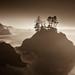Southern Oregon Coast - Sepia by rasone