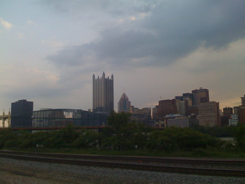 Pittsburgh from the bike path