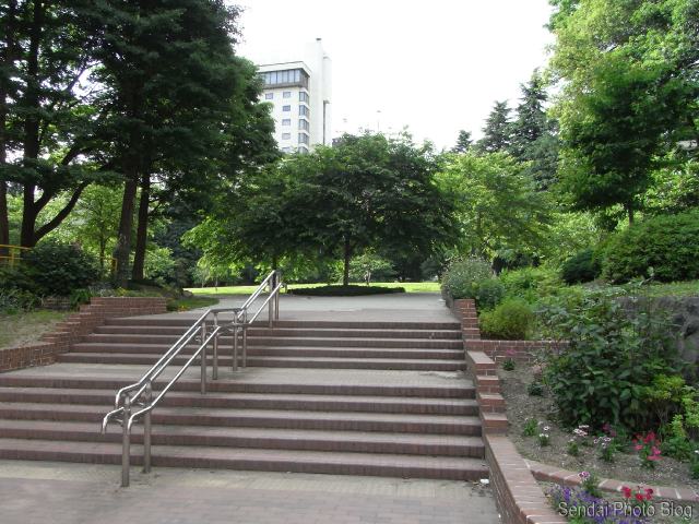 Downtown Sendai Park Entrance