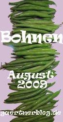 Garten-Koch-Event August 2009: Bohnen [Einsendeschlu�: 31.08.2009]