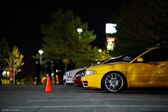 DSC_1648 (Jon Schusteritsch) Tags: ny car yellow night dark suffolk lowlight nikon parkinglot european shadows dof bokeh euro low longisland modified b5 custom audi bbs lowered s4 slammed 135mm gtg wideopen shallowdof primelens d700 nikkor135mmf2dc bbsck eemilitia