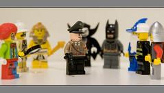 Costume Controversy (Magne M) Tags: brick toy uniform lego wizard vampire clown explorer nazi royal plastic egyptian batman fireman minifig princeharry childish pharao costumeball royalmess naziuniform