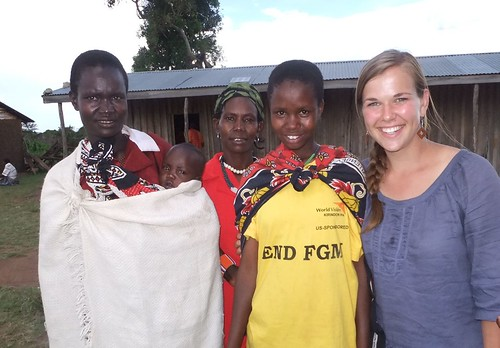 We happened upon this interesting END FGM tshirt sponsored by World Vision