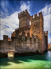 Castle Sirmione, Italy (Artvet) Tags: italy hdr sirmione