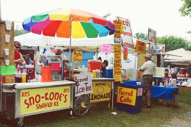 Colorful Vendor @ Trail Days in Damascus, VA