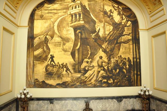 Mural en Palacio Descubrimeinto