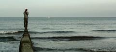 (ssj_george) Tags: camera sea people man film beach water standing canon lens person eos rebel boat is fishing waves horizon cyprus zenit xs efs mckenzie larnaca larnaka f456 55250 55250mm κύπροσ georgestavrinos λάρνακα 1000d kissf ssjgeorge mygearandme γιώργοσσταυρινόσ μακένζυ μακένζι giorgosstavrinos