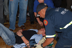 ALS Competition - EMS Week (Greg Logue) Tags: teams florida ambulance cpr hardrock firstaid citycollege firerescue lifesupport emsweek alscompetition