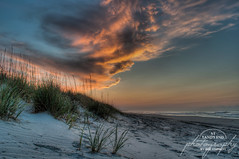 A Moment of Serenity (At Land's End Photography) Tags: favorite beach sc clouds sunrise myrtlebeach dunes southcarolina portfolio 2x3 alep