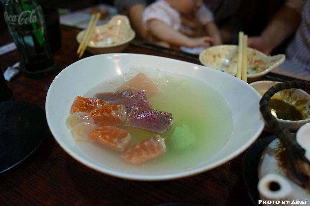 2011.6.26 又壬生日 生魚片湯