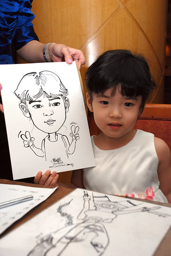 Caricature live sketching Misumi SouthEast Asia D&D 1