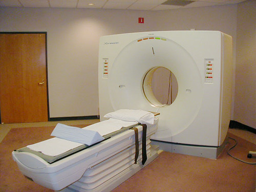 A CT Scanner!