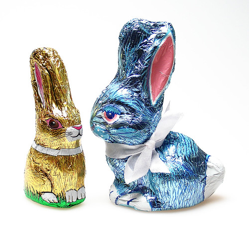 See's Milk & Dark Chocolate Rabbit