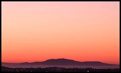 [s un s e t ] (damien_p58) Tags: sunset sky orange mountains bay peak fremont hills bayarea mission sensational amazingamateur