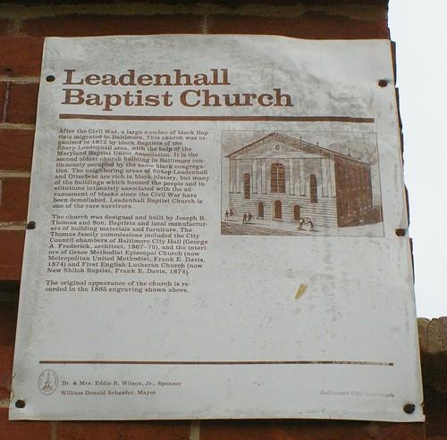 Leadenhall Baptist Church