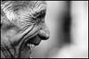 (ArTeTeTrA) Tags: portrait people blackandwhite bw man smile face profile bn sorriso stolen ritratto biancoenero profilo iloveyoursmile