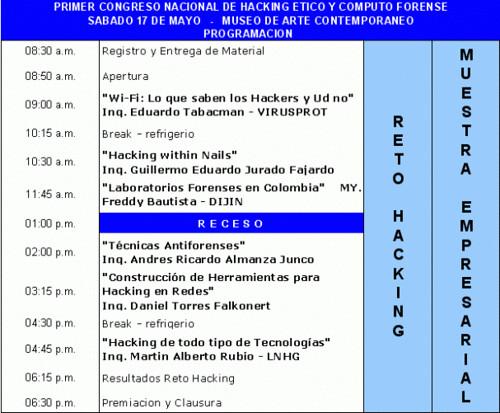 2422107414 39c2347ed4 1mer Congreso Nacional de Hacking Ético (Bogotá, Colombia)