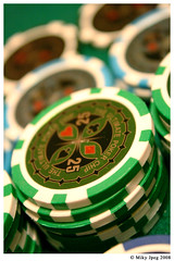 Play the game (Miky Jpeg) Tags: money game casino chips 25 gioco soldi fiches