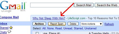 Gmail get out of my life