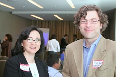Peter Adams and Sally Baggett, MatchPoint (Elliottng) Tags: uptake charlesknight altsearchengines altsearchengines2008meetup