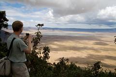 Ngorongoro Crater (Stig Nygaard) Tags: africa panorama me nature landscape tanzania scenery view wideangle unescoworldheritagesite worldheritagesite safari ngorongoro ngorongorocrater 2007 eastafrica canonefs1022mmf3545usm easternafrica ngorongoroconservationarea 400d canoneos400d lakemagadi ngorongorodistrict lakemakat
