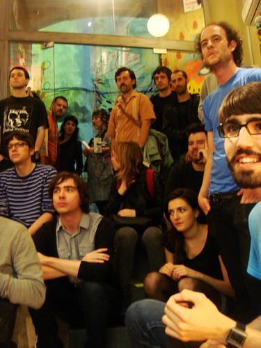 público en el concierto